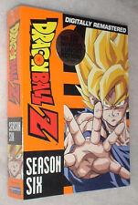Dragon Ball Z: Season 6 Six UNCUT Dragonball DVD Box Set NEW SEALED
