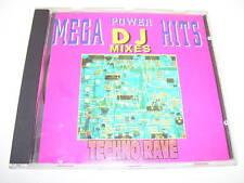 mega power hits DJ mixes techno / rave UK cd