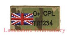 MULTICAM MTP ZAP BADGE + R/W/B UNION JACK UBACS ( British Army Marines RAF