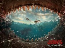 Jaws Spielberg Alternative Movie Poster by Glenn Meling No. /75 NT Mondo Phantom