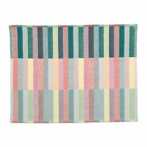 "MITTBIT Place mat, pink turquoise, light green, 18x14 ""  NEW"