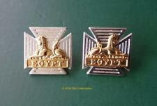 THE ROYAL GLOUCESTERSHIRE, BERKSHIRE AND WILTSHIRE REGIMENT (RGBW) COLLAR BADGES