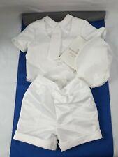Baby Boys Infant Christening Baptism White Outfit Set Lauren Madison