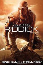 Riddick, Vin Diesel, Thrill Ride! Action, Great Condition!