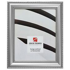 Craig Frames Victoria, 1.375 Inch Ornate Silver Picture Frame Poster Frame