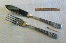 Christofle OSIRIS - ACIER / Stainless - 1 pair of fisheaters