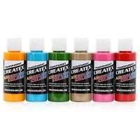 Createx Colors Airbrush Paint Tropical Set 5810-00 - 6 Colors - 2 oz