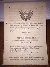 REGIO DECRETO PR VENEZIA e MANTOVA LEGGE X RITENUTA STIPENDI PENSIONI IMPIEGATI