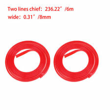 Rubber Red Door Edge Protect Strip Guard Molding Trim Decoration Strip Cover