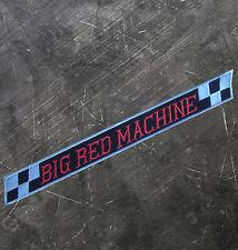 "HELLS ANGELS Support 81 Patch  Aufnäher ""BIG RED MACHINE RACING"" groß  P02"