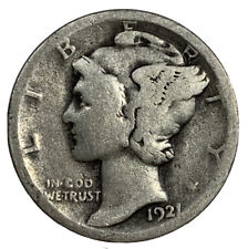New listing 1921 Mercury Dime - G/Vg Condition