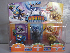 Skylanders Giants eriple Pack Stone Granite Whirlwind - Rare - NIP