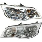 Headlight Set For 2003-2007 Saturn Ion Coupe Left and Right With Bulb 2Pc