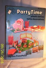 CraftBook E172 S-26 Party Time (plastic canvas table decorations )