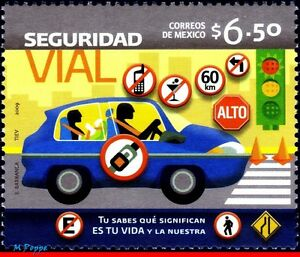 2657 MEXICO 2009 TRAFFIC SAFETY, CAR, ACCIDENT PREVENTION, HEALTH, MNH