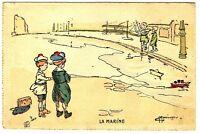 CPA Fantaisie La Marine Illustrateur G.Maréchaux postcard fantasy