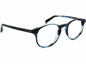 Warby Parker Women's Eyeglasses DOWNING 354 Blue Tortoise Round Frame 48[]21 140