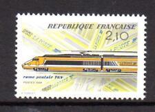 France Neuf sans Charnière 1984 SG2641 Inauguration du TGV haute vitesse Paris-Lyon service de courrier