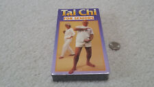 NEW VHS Tai Chi For Seniors, 1996, 59 minutes, (Factory Sealed, never opened)