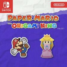Paper Mario The Origami King Pre-order Pin Set, In-Hand , Unopened