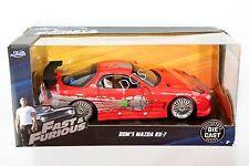 JADA DOM'S MAZDA RX-7 FAST & FURIOUS 1/24 DIECAST CAR 98338