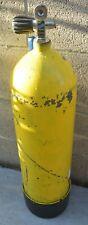 Us Divers Aqua Lung Scuba Dive Steel Tank W/Sherwood Valve & Tank Boot A2250