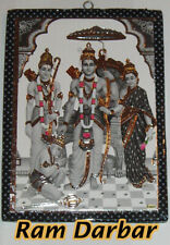 photo frame Poste picture Indian God Shri Ram Darbar Hindu Diwali Poja