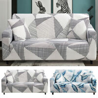 1/2/3-Seater Sofa Covers Slipcover Elastic Stretch Settee Protector Couch Floral