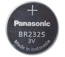 PANASONIC BR2325 CR2325 CR BR LM 2325 LM2325 L2325 Lithium 3V battery (5 pack)