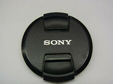 72mm Front Lens Cap Center Pinch Snap on for Sony Camera Plastic OEM