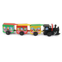 Vintage Style Wind-Up Machine Tin Train with Bell Ring Playset Party Favors