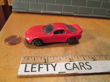 1995 MAZDA RX-7 TURBO RED CAR SCALE 1/64 - LOOSE! NO BOX!