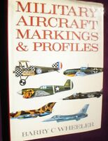 BOOK  MILITARY ILLUSTRATED MILITARY AIRCRAFT MARKINGS & PROFILES 190 PAGES PICS