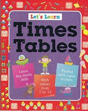 LEARN TIMES TABLES - STICKER ACTIVITY LEARNING BOOK