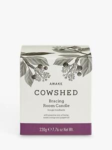 Cowshed Awake Bracing Room Candle 220g