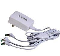 Lemax Village Collection Power Adaptor 4.5V 3-OUTPUT JACKS WHITE #94565 BNIB