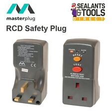 Masterplug RCD Electric Residual Circuit Breaker Safety Wall Plug Adapter RCB