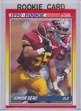 Junior Seau USC TROJANS Football 1990 Score ROOKIE CARD San Diego Chargers RC