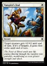 4x Vampire's Zeal NM Ixalan MTG Magic  White Common