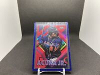 2020 TOPPS FIRE RONALD ACUNA JR. #28 Red FLAME Refractor Foil Atlanta Braves