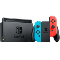 Nintendo Switch Neon Red and Neon Blue Joy-Con Console(Ships Out On 3/11)