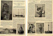 Navigation auf dem Ozean * Bildbericht mit historischen Aufnahmen von 1900