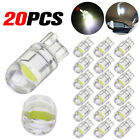 20x T10 LED COB 6000K White W5W 168 Car Interior Lights Dome Reading Map Light