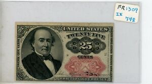 1874 FR 1309 25c Fractional Currency # 748