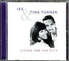 IKE & TINA TURNER - LIVING FOR THE CITY - CD ALBUM BEST OF  [426]