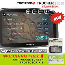 TomTom Trucker 6000 Lifetime Edition FREE LIFETIME MAPS, LIVE TRAFFIC & CAMERAS