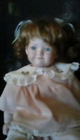 "Ashley Belle Collection 18"" Porcelain Doll"