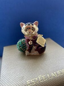 Estee Lauder Cuddly Kitten Beautiful Solid Perfume Compact