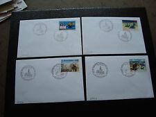 FRANCE - 4 enveloppes 1997/1998 (cy43) french