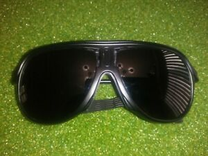 REI Glacier Goggle Sunglasses W/Leather Side Shields Vintage Nice Used Condition
